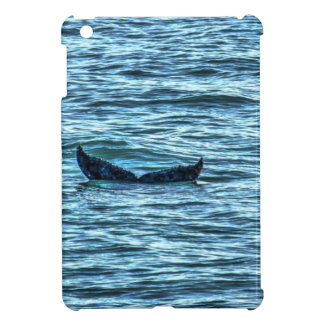 HUMPBACK WHALE TAIL QUEENSLAND AUSTRALIA ART COVER FOR THE iPad MINI