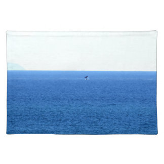 HUMPBACK WHALE TAIL QUEENSLAND AUSTRALIA PLACEMAT