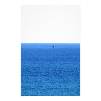 HUMPBACK WHALE TAIL QUEENSLAND AUSTRALIA STATIONERY