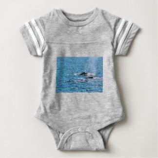 HUMPBACK WHALES MACKAY QUEENSLAND AUSTRALIA BABY BODYSUIT