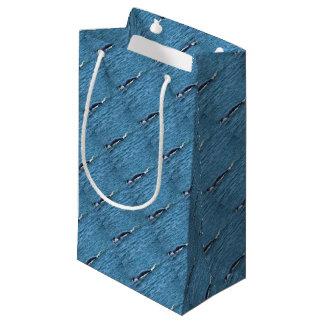 HUMPBACK WHALES MACKAY QUEENSLAND AUSTRALIA SMALL GIFT BAG