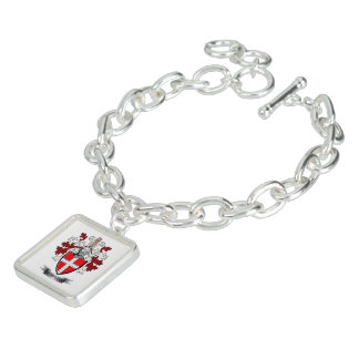 Humphrey Family Crest Coat of Arms Bracelets