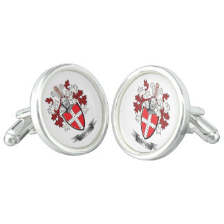 Humphrey Family Crest Coat of Arms Cuff Links