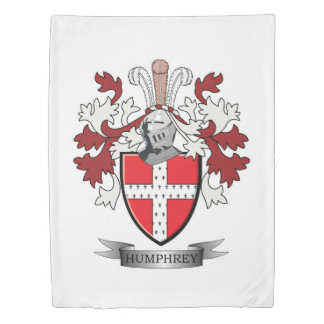Humphrey Family Crest Coat of Arms Duvet Cover