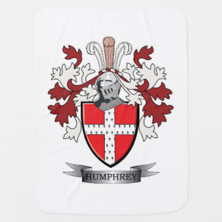 Humphrey Family Crest Coat of Arms Stroller Blanket