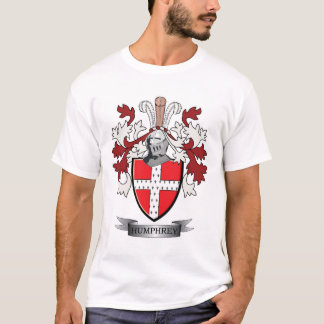 Humphrey Family Crest Coat of Arms T-Shirt