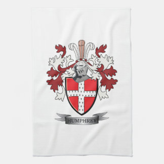 Humphrey Family Crest Coat of Arms Towels