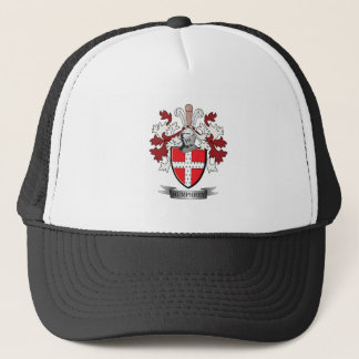 Humphrey Family Crest Coat of Arms Trucker Hat