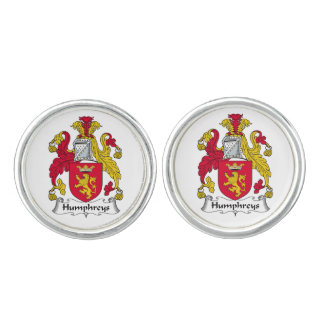 Humphreys Family Crest Cufflinks