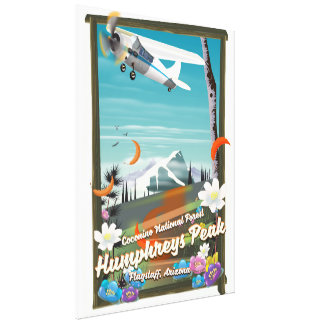 Humphreys Peak,Humphreys Peak,Flagstaff,Arizona Canvas Print