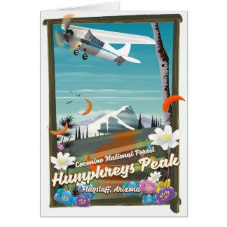 Humphreys Peak,Humphreys Peak,Flagstaff,Arizona Card