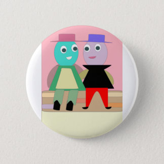 humpty couples 2 inch round button