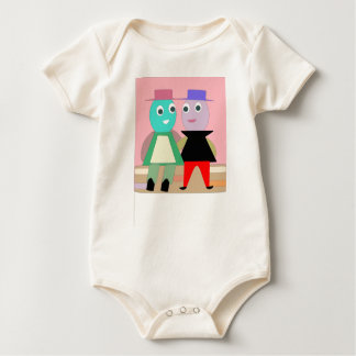 humpty couples baby bodysuit
