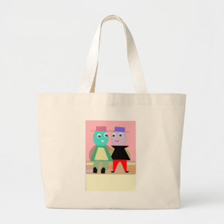 humpty couples large tote bag