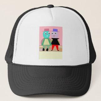 humpty couples trucker hat