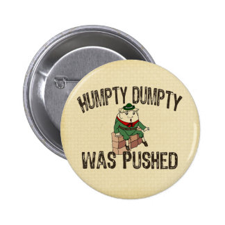 Humpty Dumpty 2 Inch Round Button