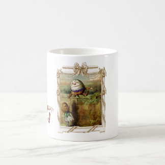 Humpty Dumpty and Alice Coffee Mug