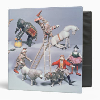 Humpty Dumpty Circus acrobats and menagerie 3 Ring Binder