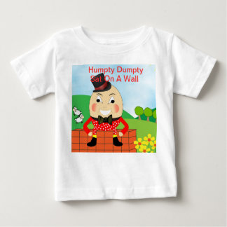 Humpty Dumpty Nursery Rhyme Theme Baby T-Shirt