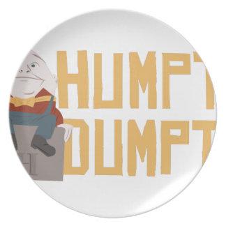 Humpty Dumpty Plate