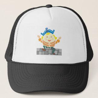Humpty Dumpty sat on A embankment… Trucker Hat