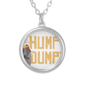 Humpty Dumpty Silver Plated Necklace