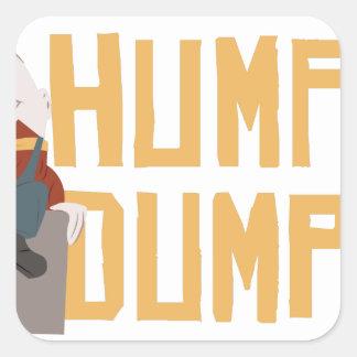 Humpty Dumpty Square Sticker
