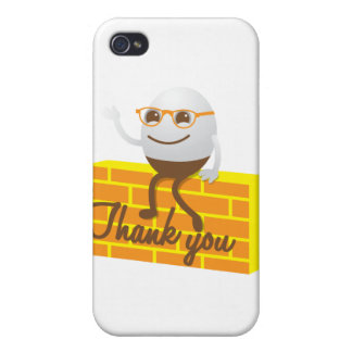 Humpty Dumpty thank you iPhone 4 Cover