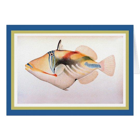 Humuhumu Apua'a Fish Card