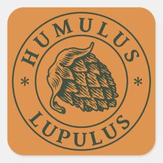 Humulus lupulus sticker square