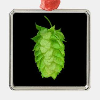 Humulus Lupulus: the hop cone! Metal Ornament