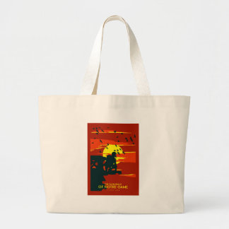 hunchback of notre dame large tote bag