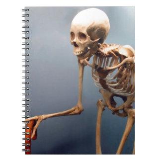 Hunchback Skeleton Notebook