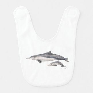 Hunchbacked dolphin of Australia Bib