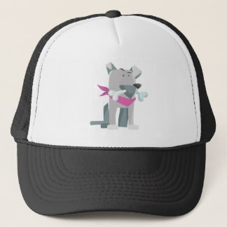 Hund Knochen dog bone Trucker Hat