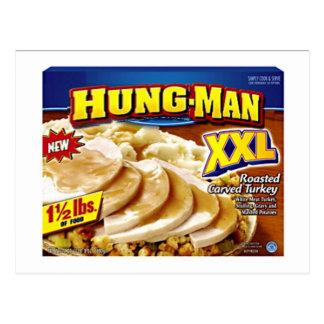 Hung-Man Dinner Postcard