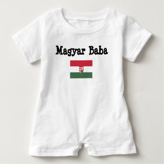 Hungarian Baba Baby Romper