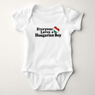 Hungarian Boy Baby Bodysuit