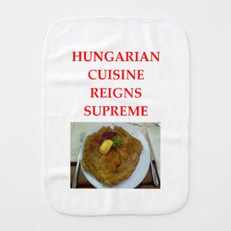 HUNGARIAN BURP CLOTH