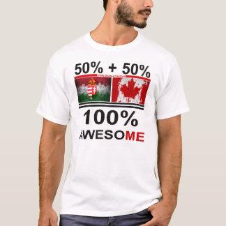 Hungarian-Canadian awesome | kanadai magyar T-Shirt