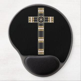 hungarian catholic cross religion god symbol stole gel mouse pad