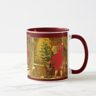 Hungarian Christmas from 1896 Mug