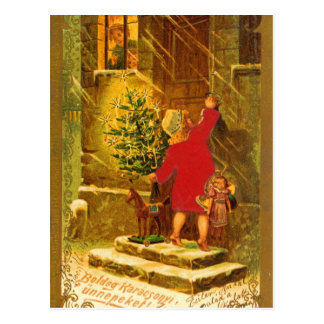 Hungarian Christmas from 1896 Post Cards