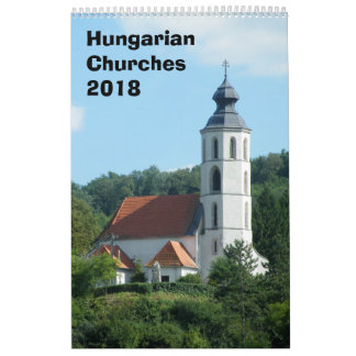 Hungarian churches Calendar 2018