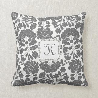 Hungarian Elegance Throw Pillow