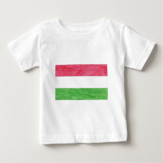 Hungarian Flag Baby T-Shirt