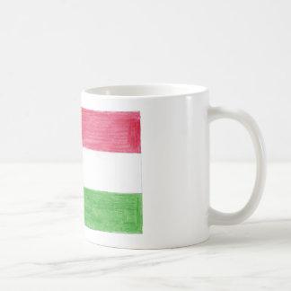 Hungarian Flag Coffee Mug