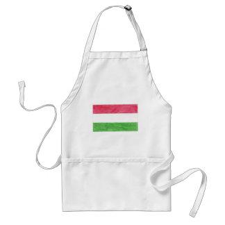 Hungarian Flag Standard Apron