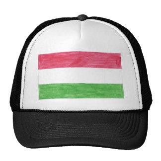 Hungarian Flag Trucker Hat