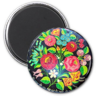 Hungarian Flowers Magnet